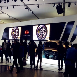Rental LED Display for Autoshow