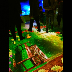 Led video dance floor for Exhibition