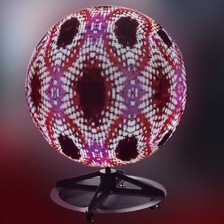 wyświetlacz led ball zapewnia wyjątkowe wrażenia wizualne