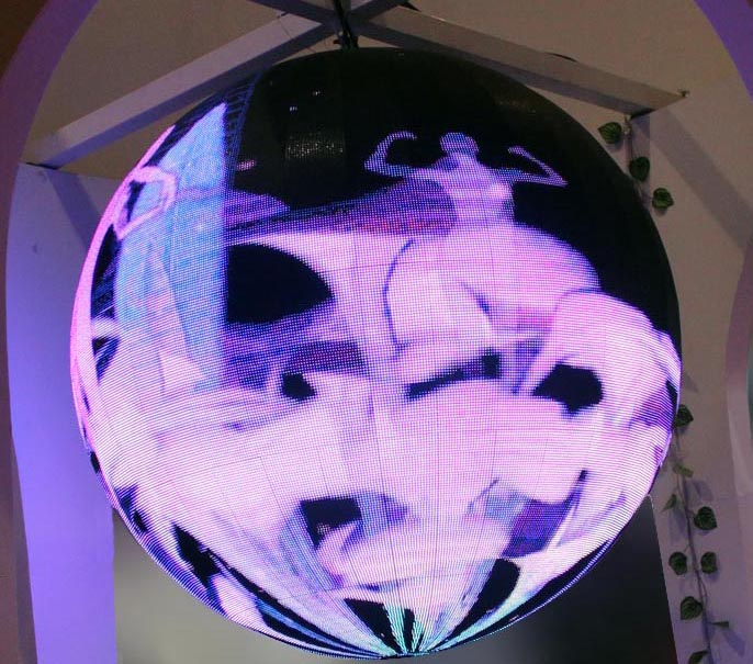 Customizable Diameter & Pixel Pitch led ball display