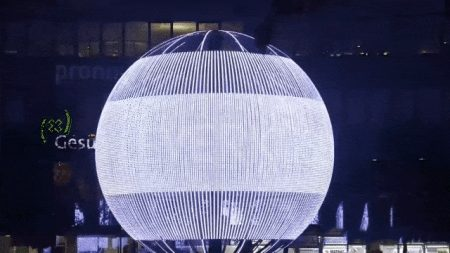 LED Outdoor Ball Display