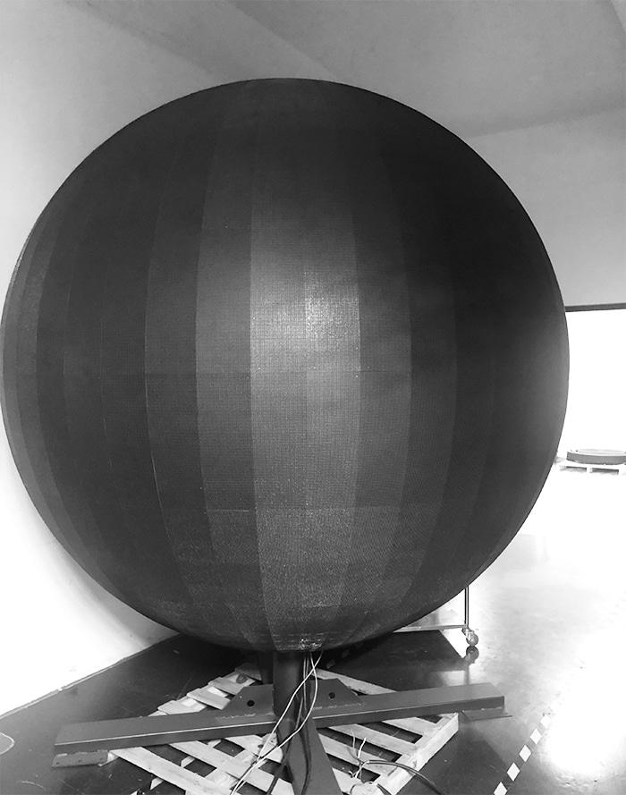 Big LED Video Sphere