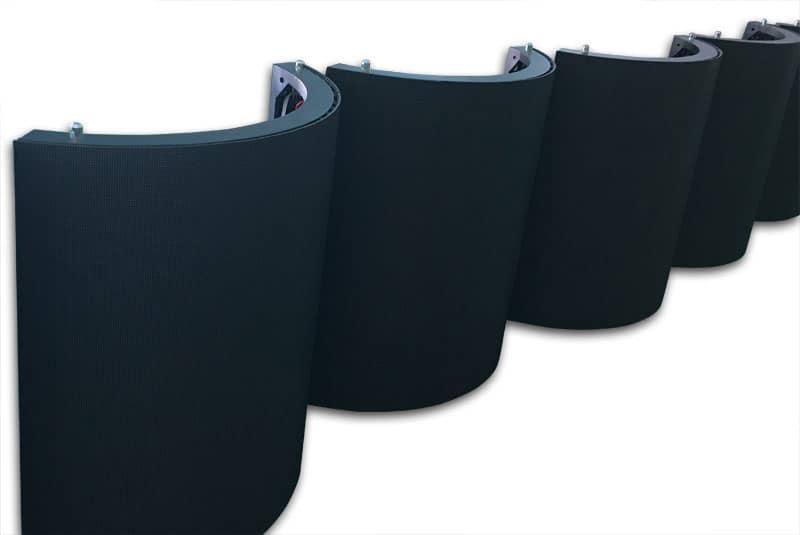 Black Anti-reflection SMD Mask flexible led display module