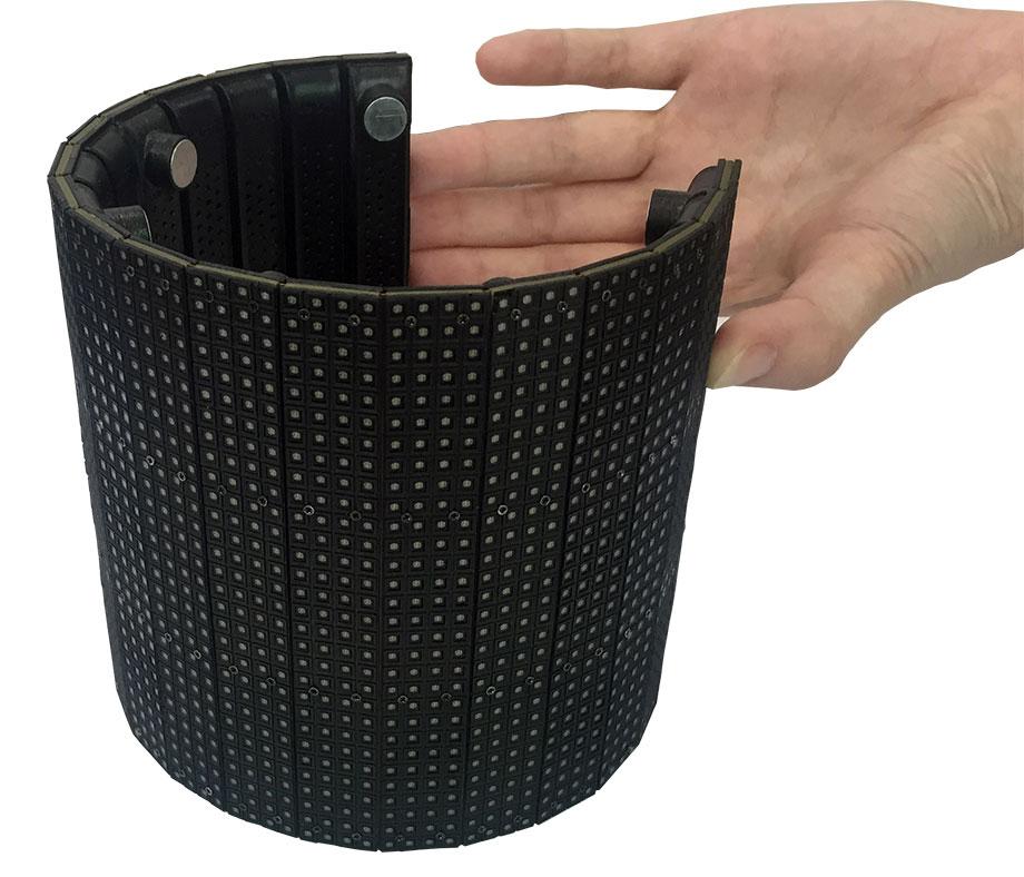 Ultra Flexible flexible led display module
