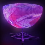 creative shape led ball display