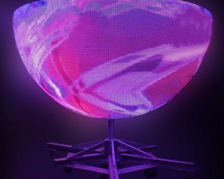 creative shape led ball display