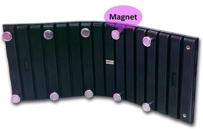 Magnetisk Modular Design Flexibel ledd displaymodul