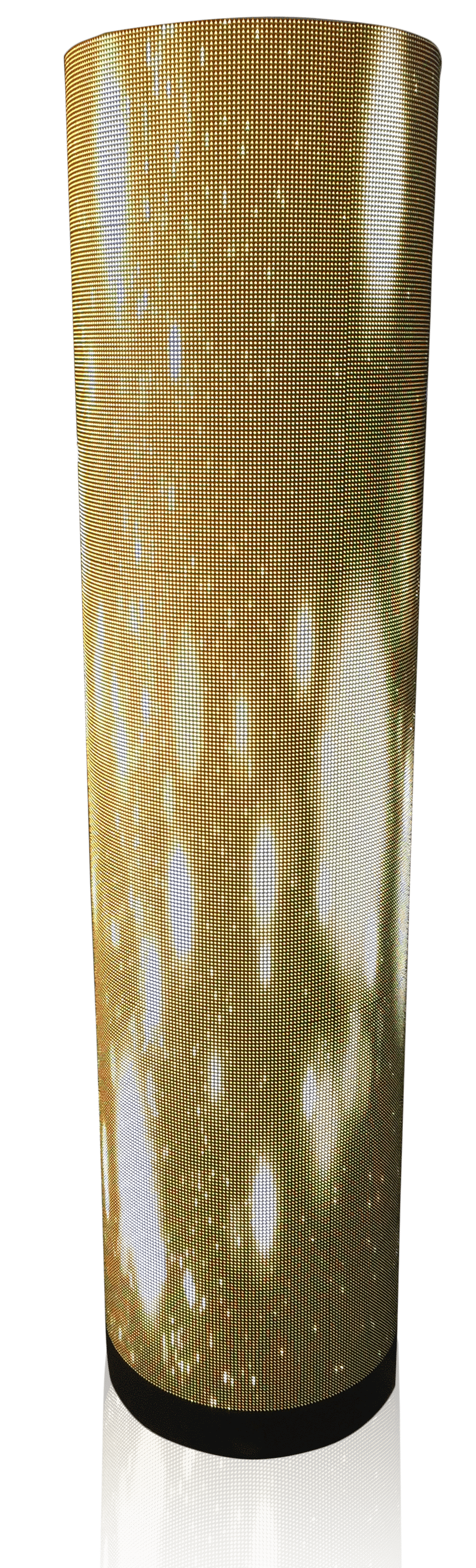 flexible led display module for cylinder shape design