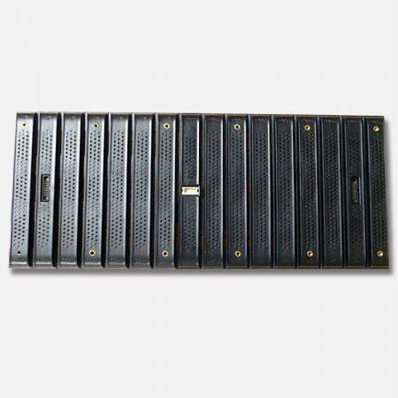 module d'affichage led flexible vue arrière