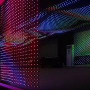 stage backdrop flexible led curtain