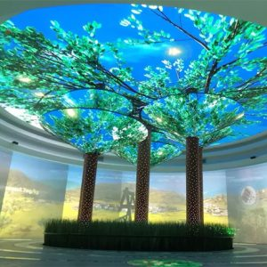 Tree shape Creative led screen