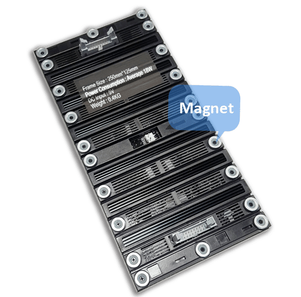 flexible led module Magnetic Modular Design