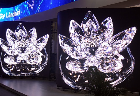 flexible led module can be curved and make interesting forms for your custom solutions