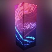 LED Column delivers colorful content