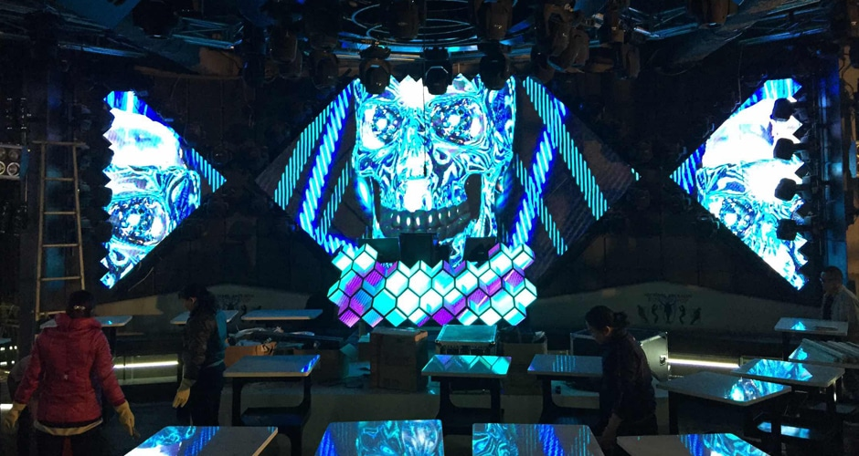 dj booth led screen creates stunning visual experience