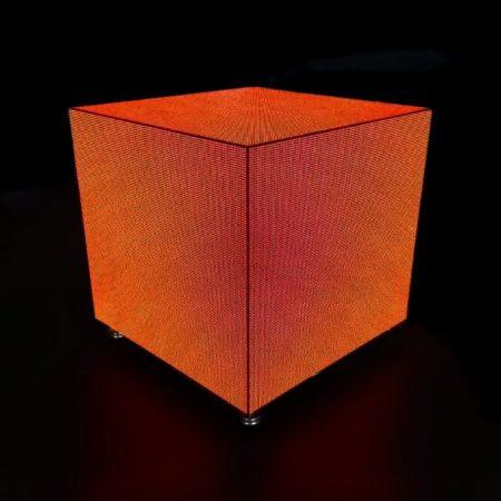 display de cubo de alta precisão