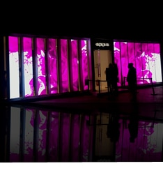 HD LED screen for oppo retail