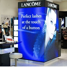 LED Screen Retail for LANCOME