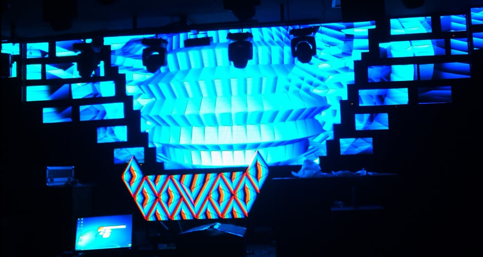 ultra high definition video dj screen