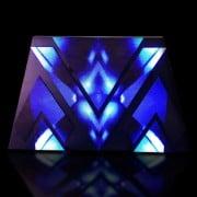 video dj booth creative shape design