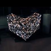 video dj booth creates stunning effect