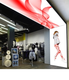 HD LED screen for retail