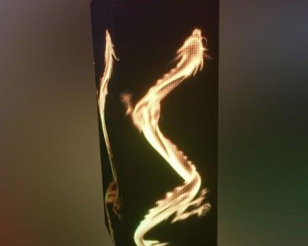stunning effect LED Column