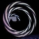 exclusive shape circular led display