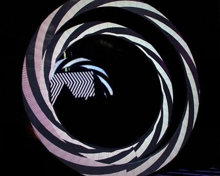 exclusive shape circular led display