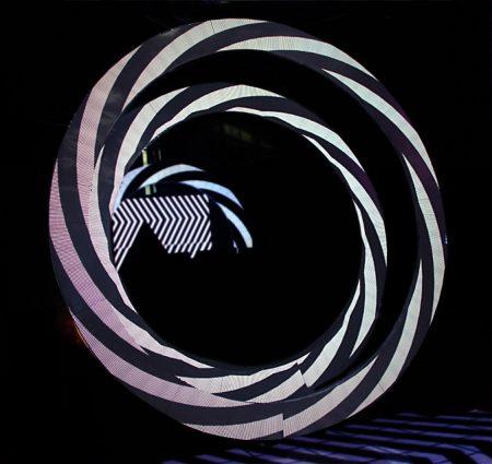 独家造型圆形led显示屏