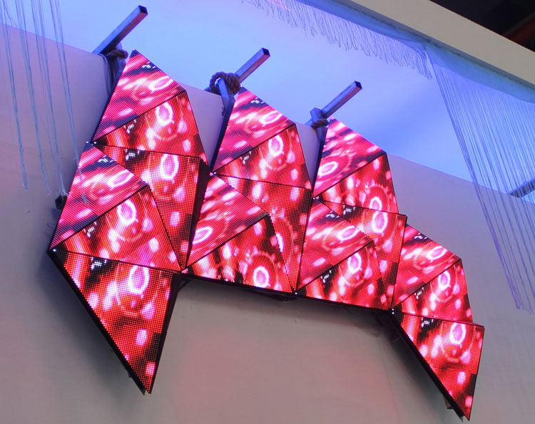 Polygon LED Display