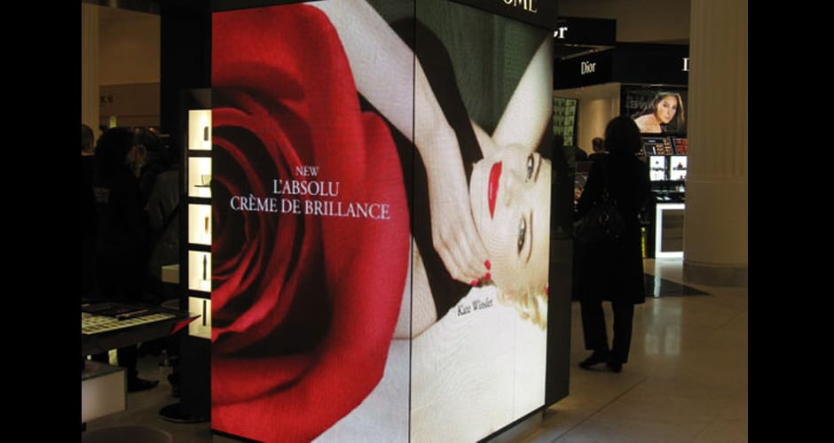 led screen retail enhances your brand image