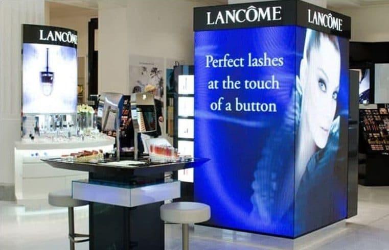led scherm retail verbetert uw merkbeleving