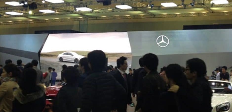 auto show led screen wall