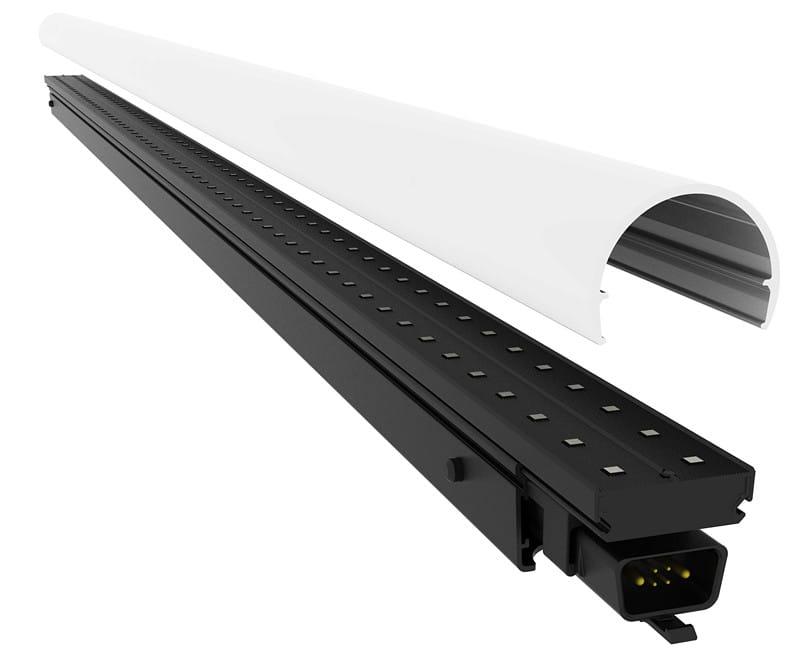 Tira video do diodo emissor de luz