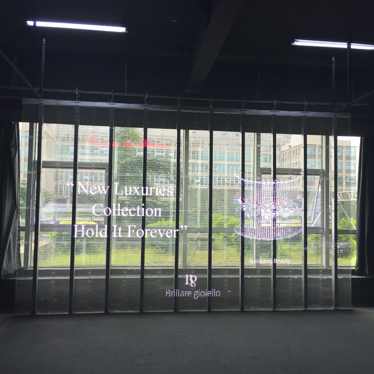 transparent led display enhance brand experience
