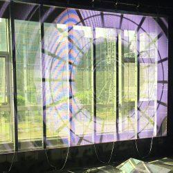 Transparent Glass Display
