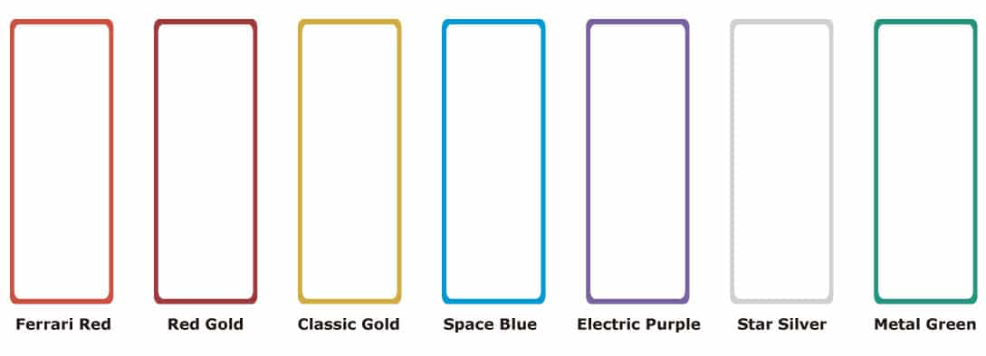 customize LED Poster Display Frame Colors