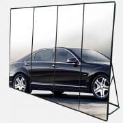 multiple LED Poster Display complising big screen
