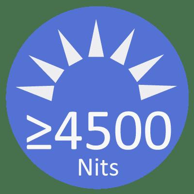 led strip video BRIGHTNESS ≥4500