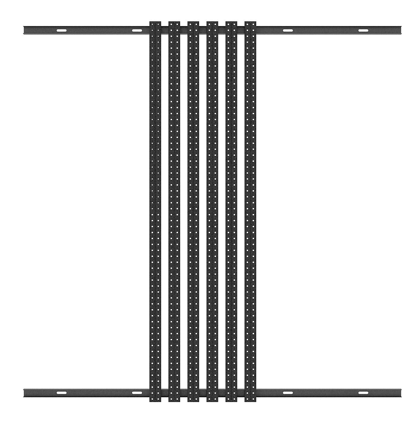 mount led strip video horizontally