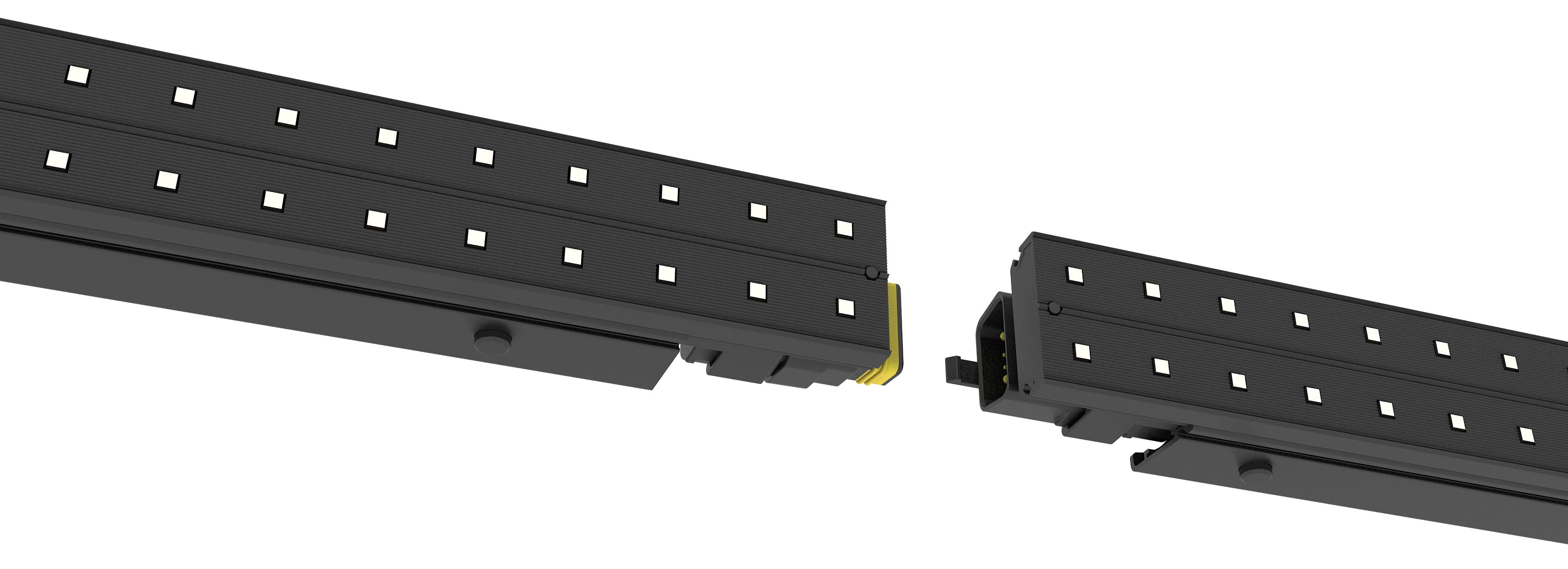 led strip video snap-fits