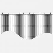 LED Strip Video makes creates wave shape