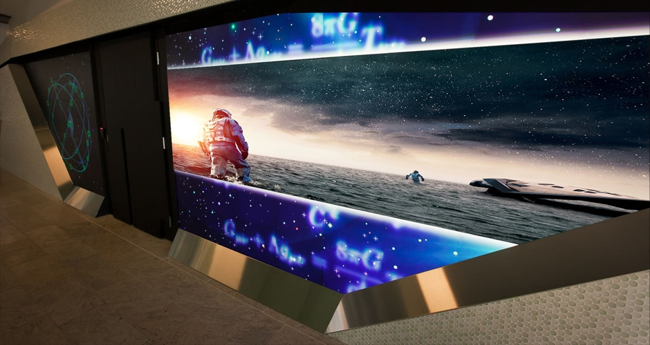 video wall screens creates stunning effect