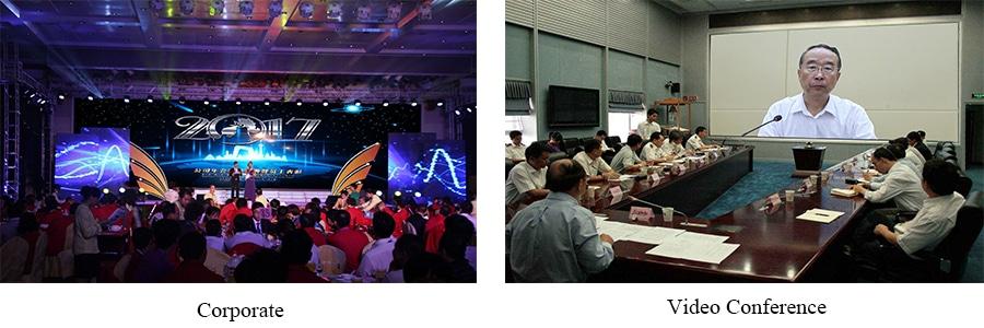 Fine-Pitch-LED-Anzeige für Unternehmens- / Videokonferenzen