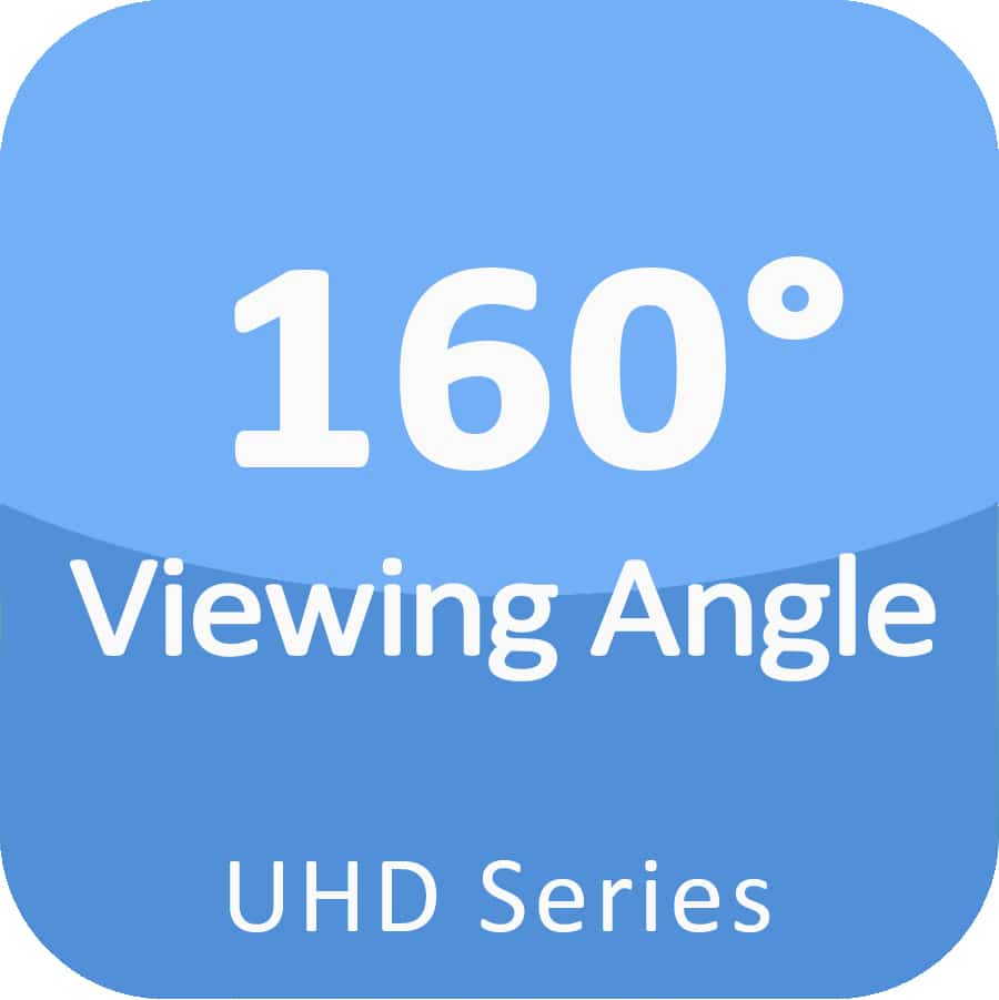 160 viewing angle small pitch led display