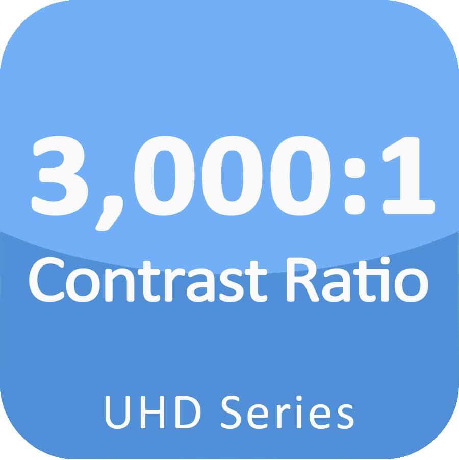 3000:1 contrast ratio fine pitch led display