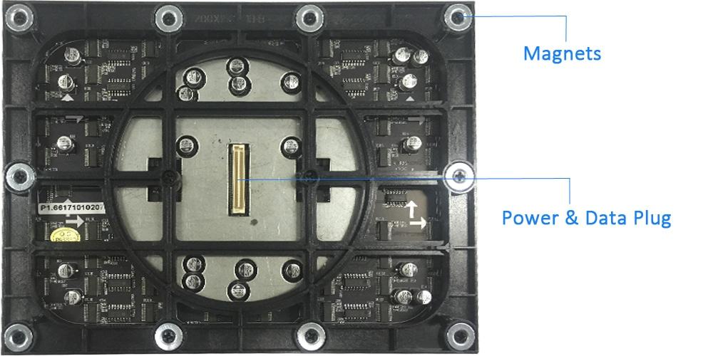 Fine-Pitch-LED-Anzeigemodul