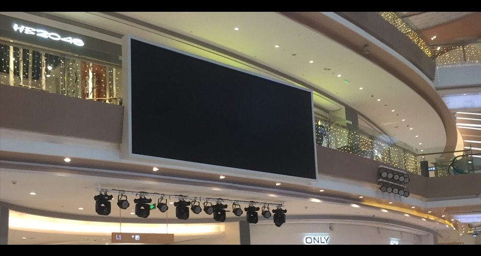 hd video screen for advertising