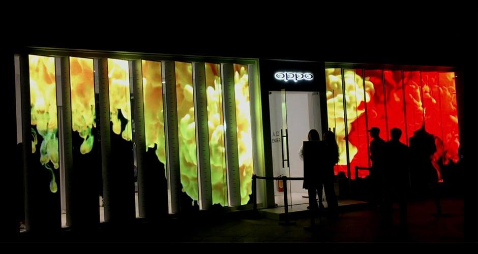 LED-display voor detailhandel en een buitengewone en gedenkwaardige winkelervaring